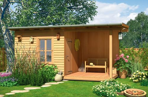 Projekt domku ogrodowego